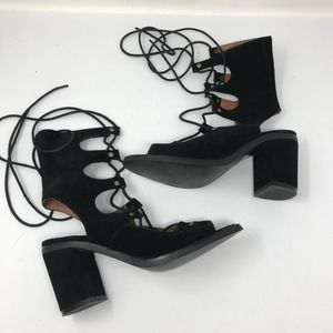 Jeffrey Campbell X Free People 7 Lace Up Sandals